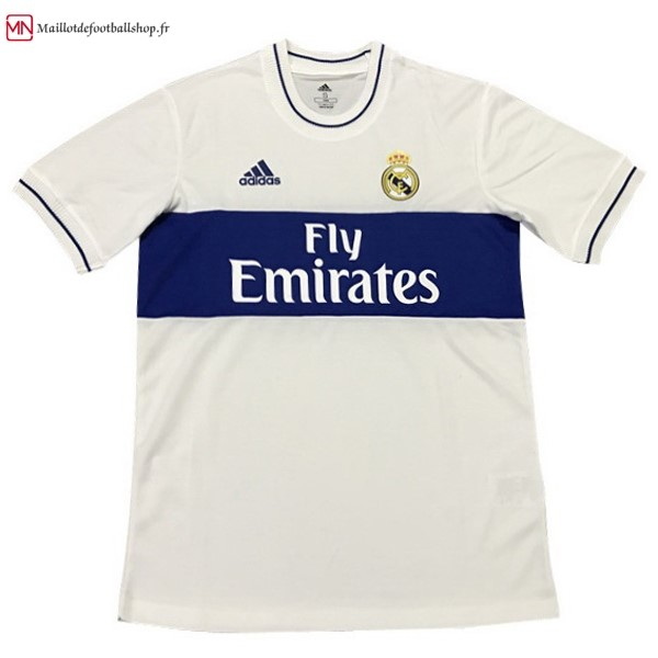 Maillot Football Real Madrid Édition Commémorative 2018/2019 Blanc