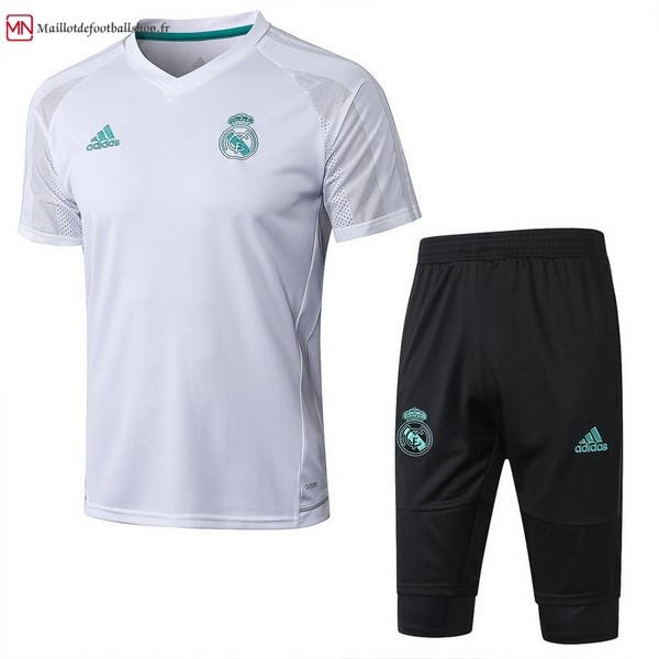 Entrainement Football Real Madrid Ensemble Complet 2017/2018 Blanc Noir
