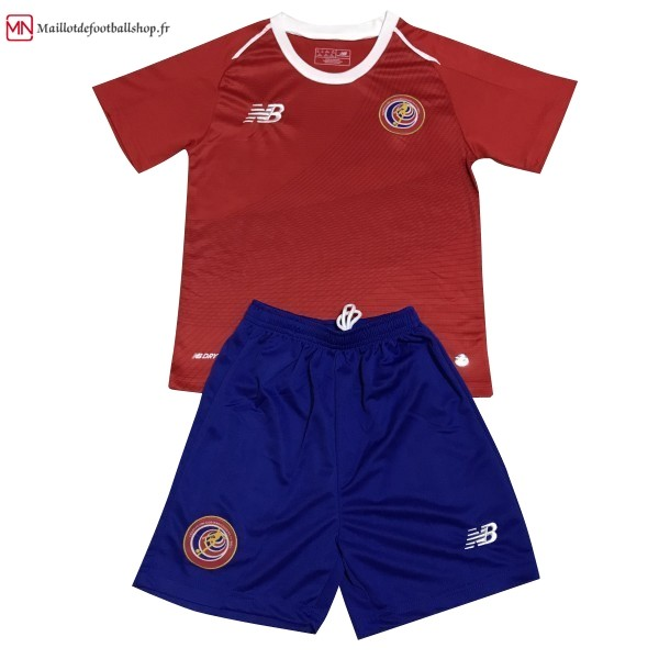 Maillot Football Costa Rica Domicile Enfant 2018 Rouge