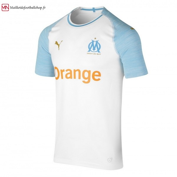 Maillot Football Marseille Domicile 2018/2019 Blanc