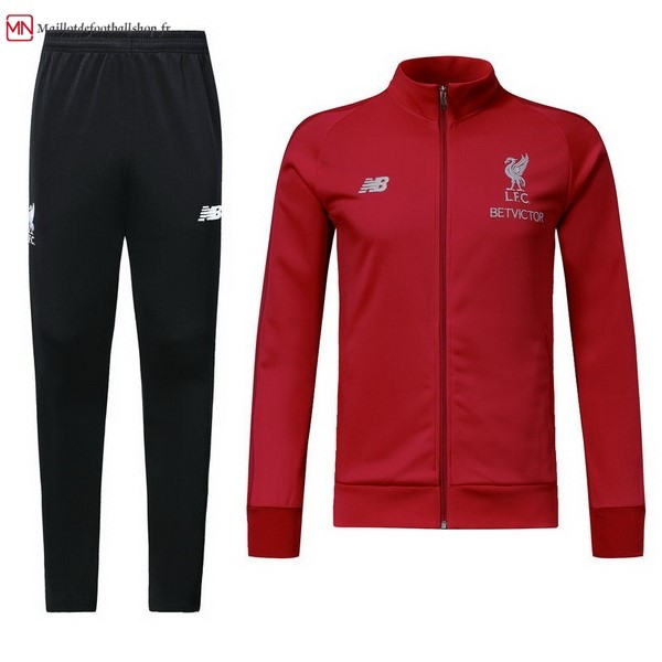 Survetement Football Liverpool 2018/2019 Rouge Noir