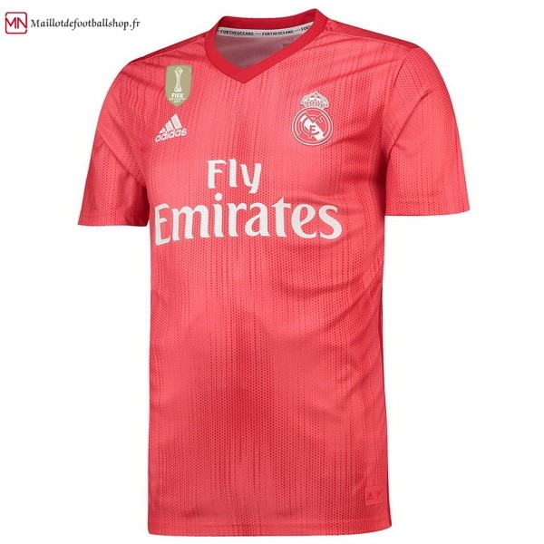 Thailande Maillot Football Real Madrid Third 2018/2019 Rouge
