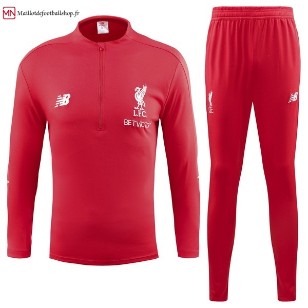 Survetement Football Liverpool 2018/2019 Rouge