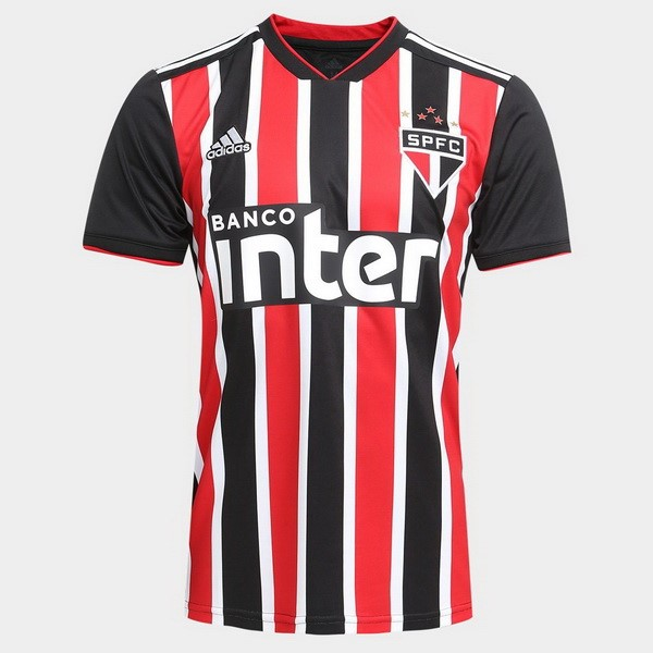 Maillot Football São Paulo Exterieur 2018/2019 Rouge