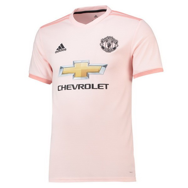 Maillot Football Manchester United Exterieur 2018/2019 Rose