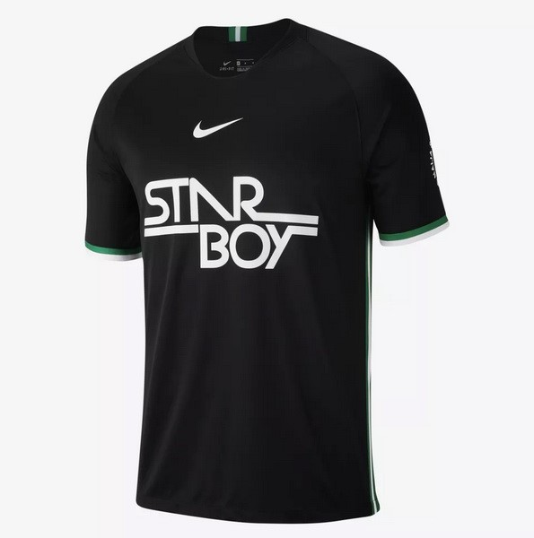 Maillot Football Entrainement Nigeria 2018 Noir