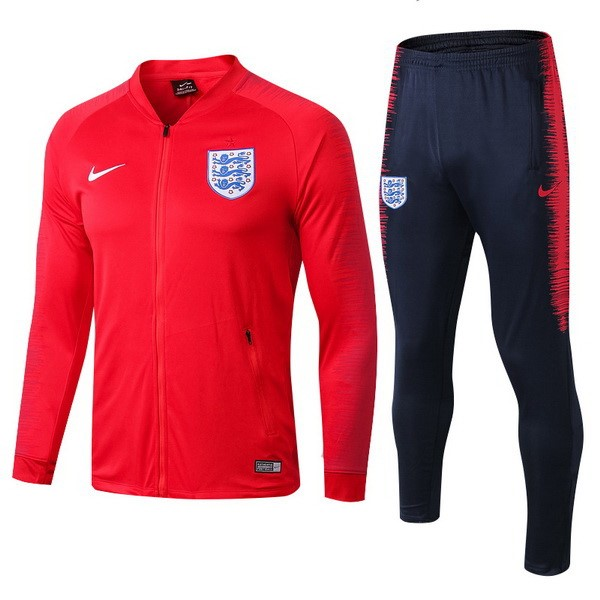 Survetement Football Angleterre 2018 Rouge