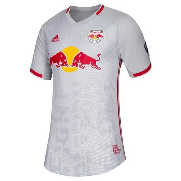 Maillot Football Red Bulls Domicile 2019 2020 Blanc