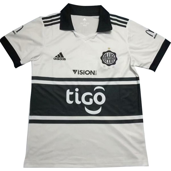 Maillot Football Club Olimpia Domicile 2018 2019 Blanc