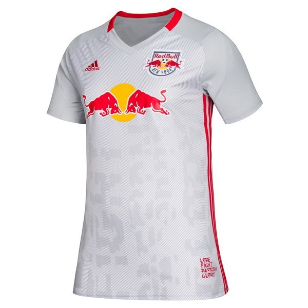 Maillot Football Red Bulls Domicile Femme 2019 2020 Blanc