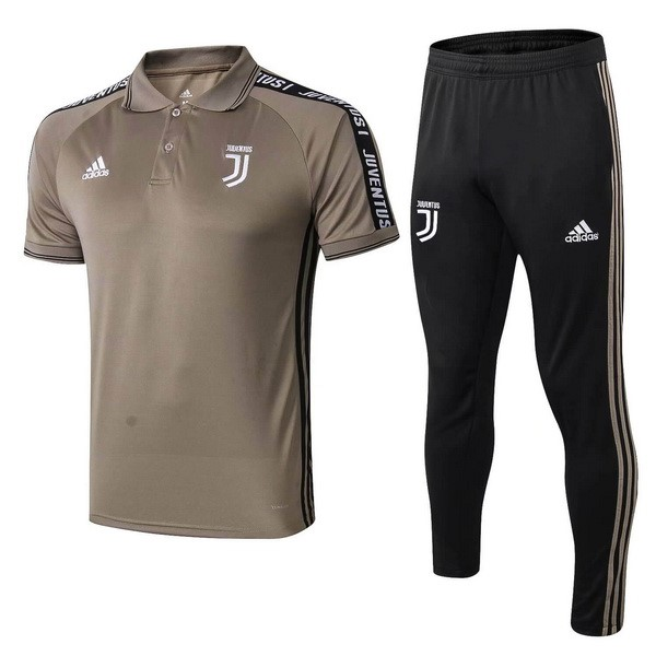 Polo Football Ensemble Complet Juventus 2019/2020 Marron Noir