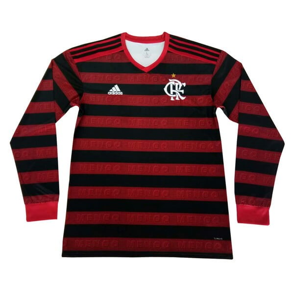 Maillot Football Flamengo Domicile ML 2019/2020 Rouge