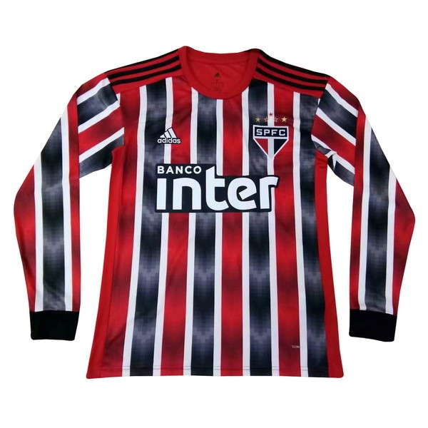 Maillot Football São Paulo Exterieur ML 2019/2020 Rouge