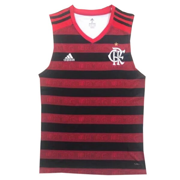 Maillot Football Flamengo Domicile Sin Mangas 2019/2020 Rouge