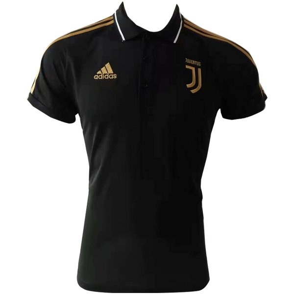 Polo Football Juventus 2019/2020 Jaune Noir