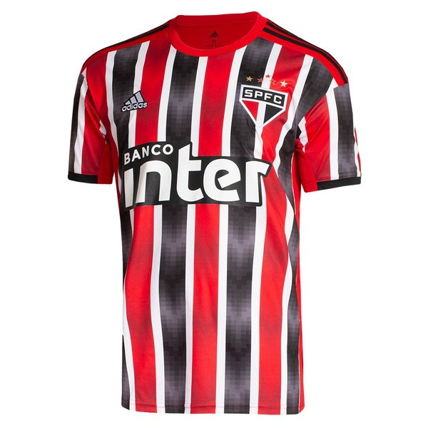 Maillot Football São Paulo Exterieur 2019/2020 Rouge
