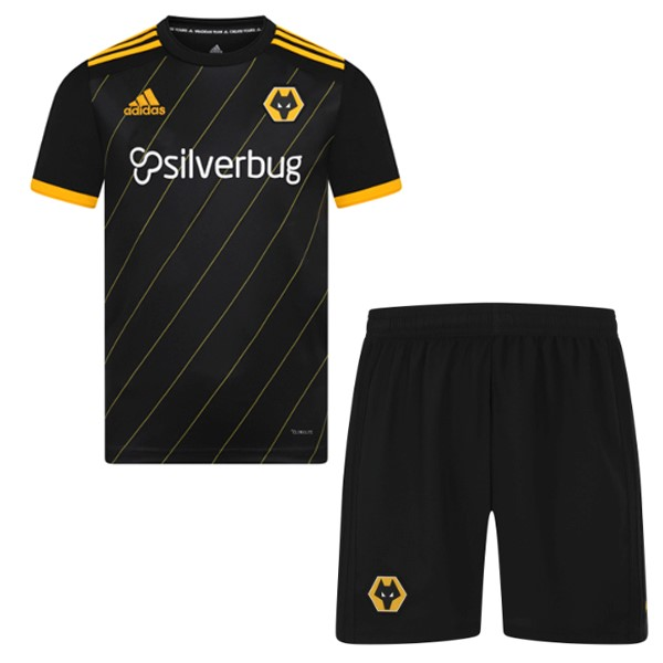 Maillot Football Wolves Exterieur Enfant 2019/2020 Negro