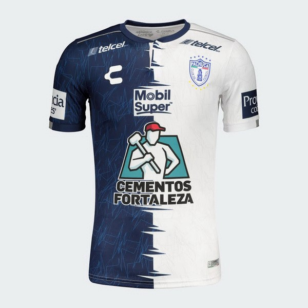 Maillot Football Pachuca Domicile 2019/2020 Azul Blanc