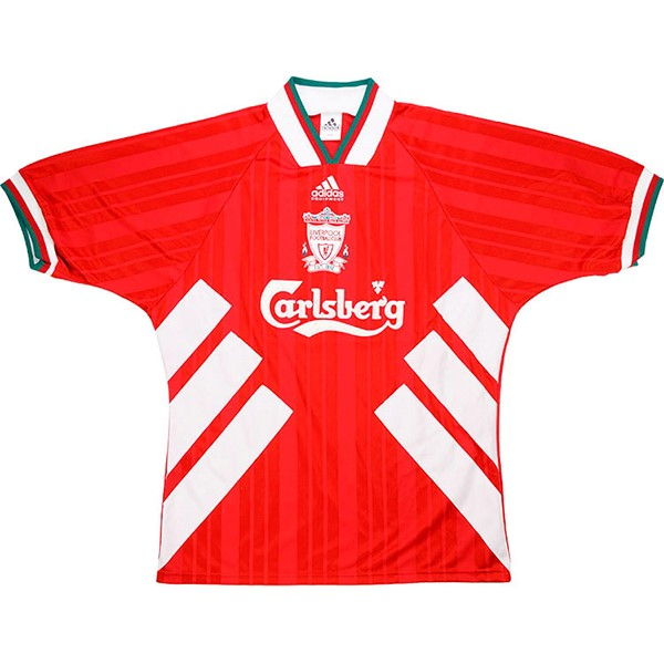 Maillot Football Liverpool Domicile Retro 1993 1995 Rouge