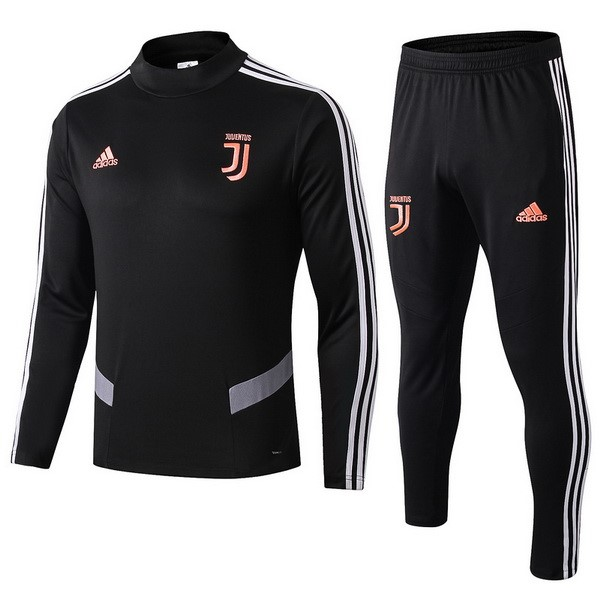 Survetement Football Enfant Juventus 2019/2020 Noir Orange