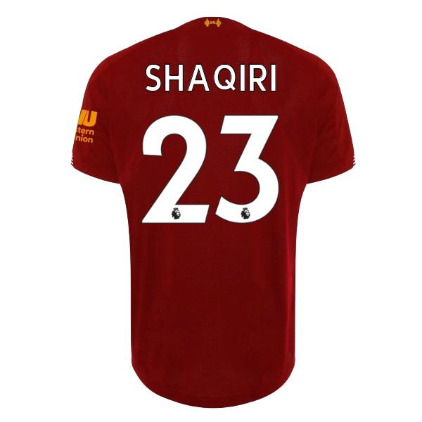 Maillot Football Liverpool NO.23 Shaqiri Domicile 2019/2020 Rouge