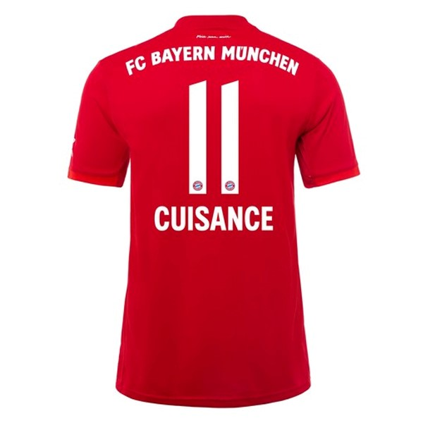 Maillot Football Bayern Munich NO.11 Cuisance Domicile 2019/2020 Rouge