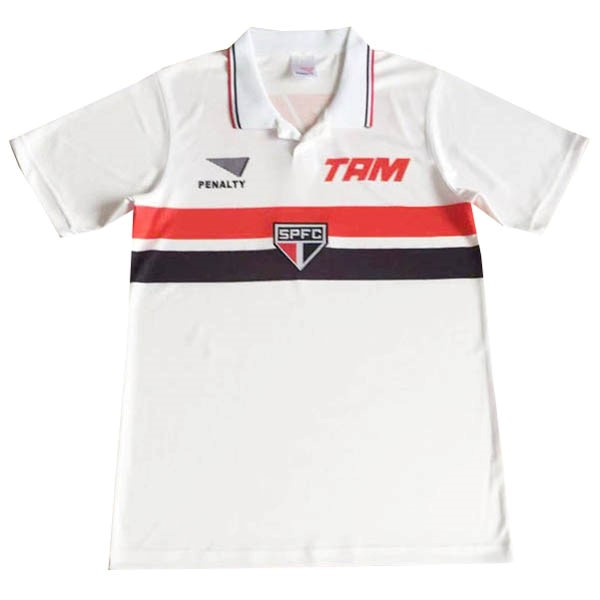 Maillot Football São Paulo PENALTY Domicile Retro 1994 Blanc