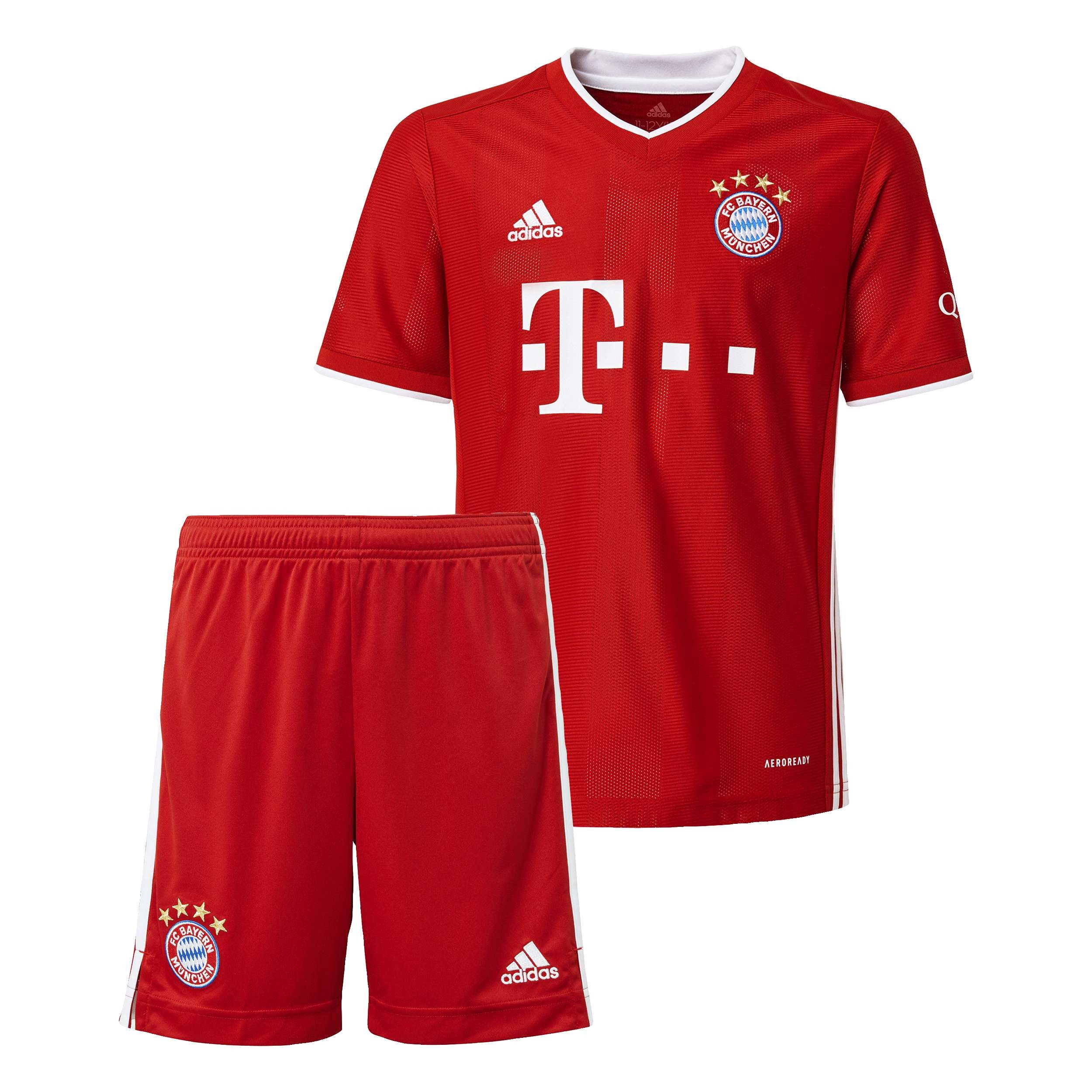 Maillot Football Bayern Munich Domicile Enfant 2020/2021 Rouge