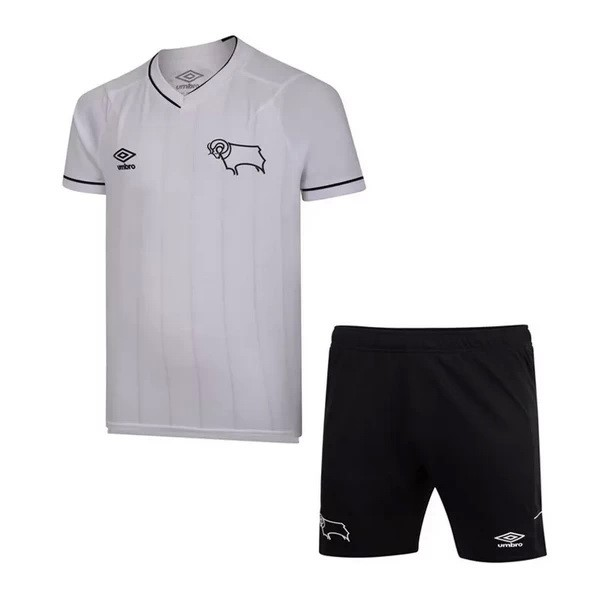 Maillot Football Derby County Domicile Enfant 2020/2021 Blanc
