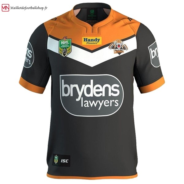 Maillot Rugby Wests Tigers NRL Domicile 16/17