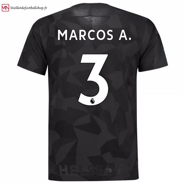 Maillot Football Chelsea Third Marcos A. 2017/2018