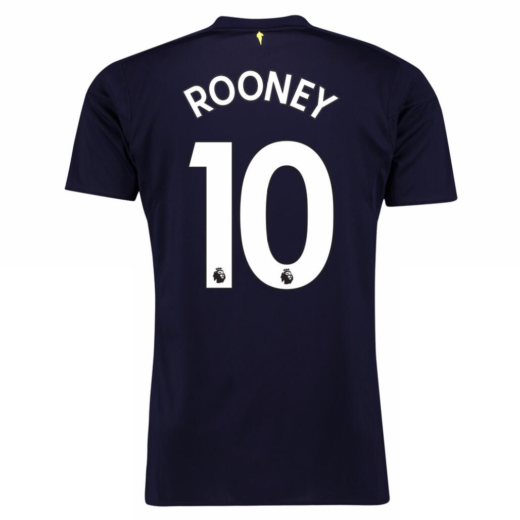 Maillot Football Everton Third Rooney 2017/2018