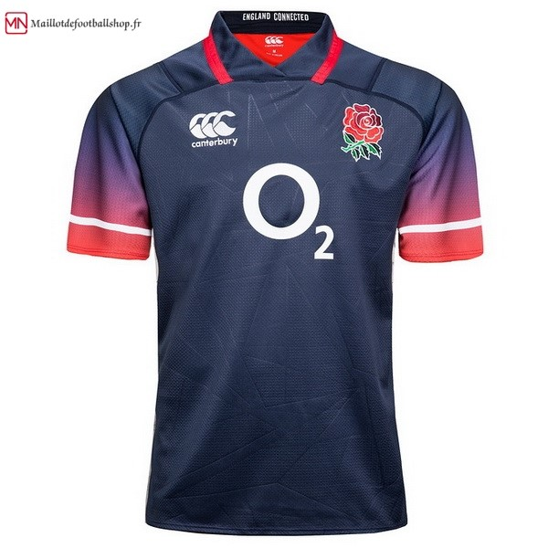 Maillot Rugby Angleterre Exterieur 2017/2018 Bleu