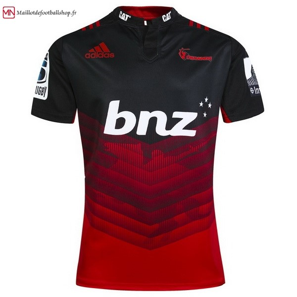 Maillot Rugby Crusaders Domicile 2017/2018 Rouge
