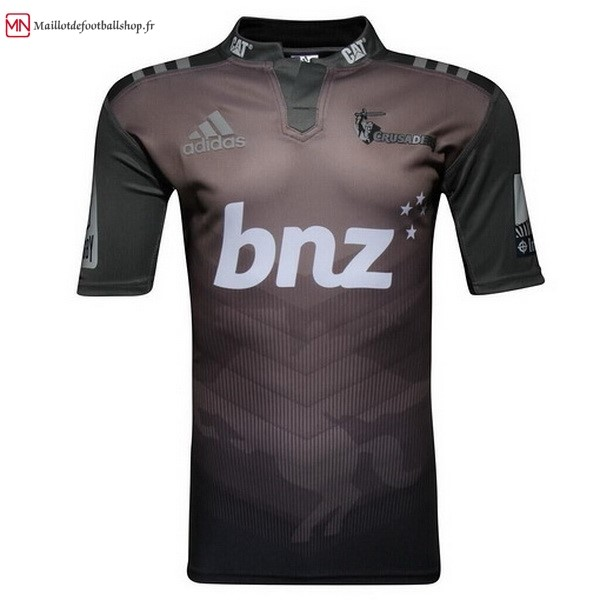 Maillot Rugby Crusaders Exterieur 2017/2018 Noir