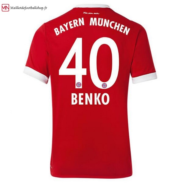 Maillot Football Bayern Munich Domicile Benko 2017/2018