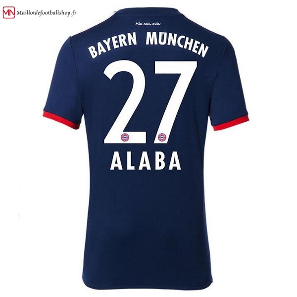 Maillot Football Bayern Munich Exterieur Alaba 2017/2018