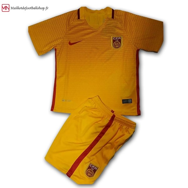 Maillot Football Chine Enfant Exterieur 2017