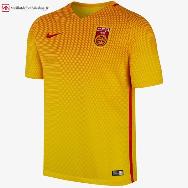 Maillot Football Chine Exterieur 2017
