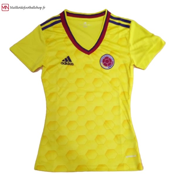 Maillot Football Columbia Femme Domicile 2017
