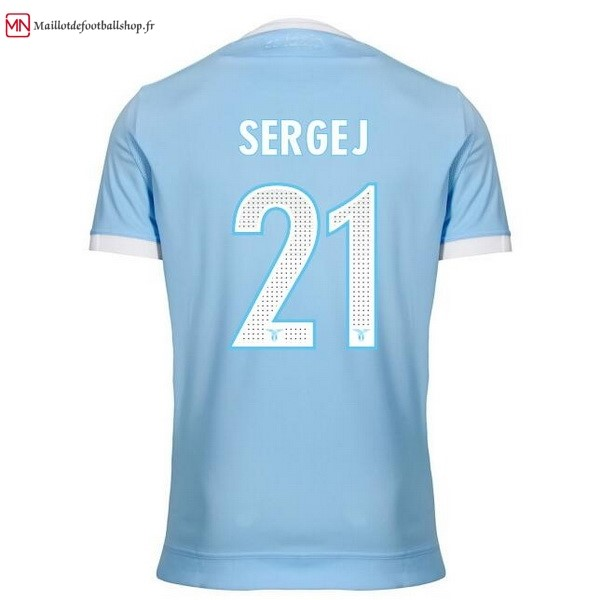 Maillot Football Lazio Domicile Sergej 2017/2018