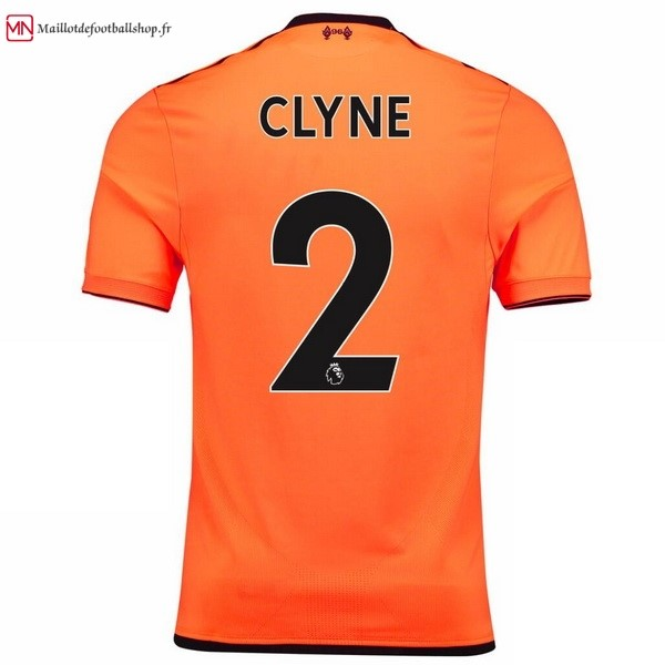Maillot Football Liverpool Third Clyne 2017/2018