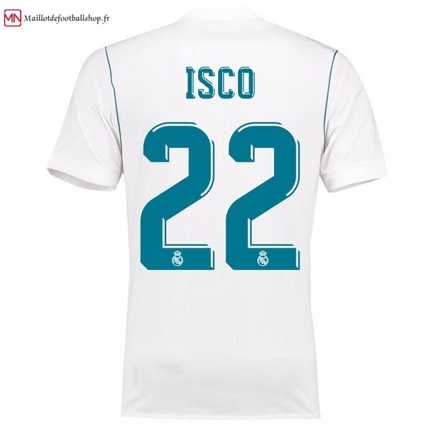 Maillot Football Real Madrid Domicile Isco 2017/2018