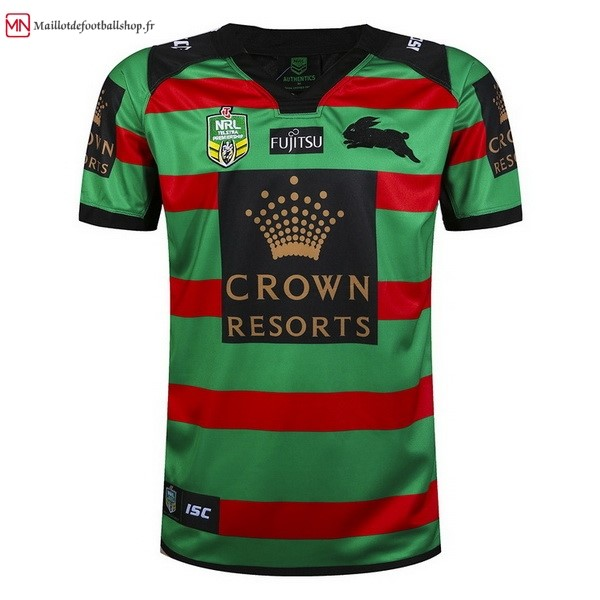 Maillot Rugby Rabbitohs Domicile 2017/2018 Vert
