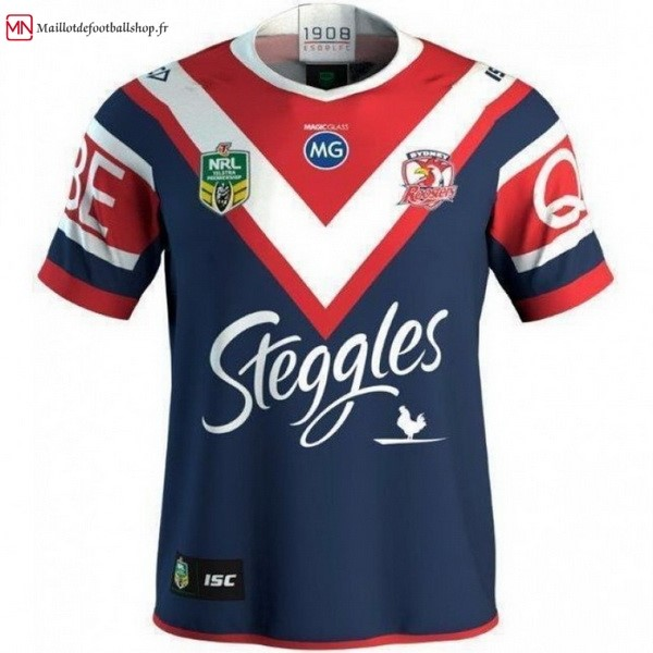Maillot Rugby Sydney Roosters Domicile 2018 Bleu